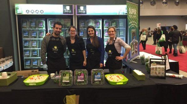 Montreal's Expo Manger Santé et Vivre Vert