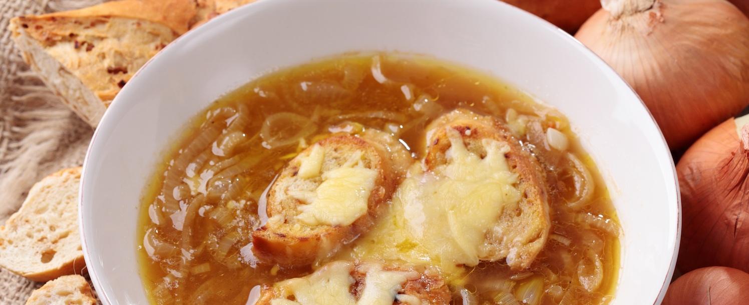 Soupe à l'oignon / onion soup