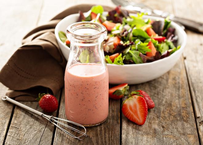 c. strawberry salad dressing