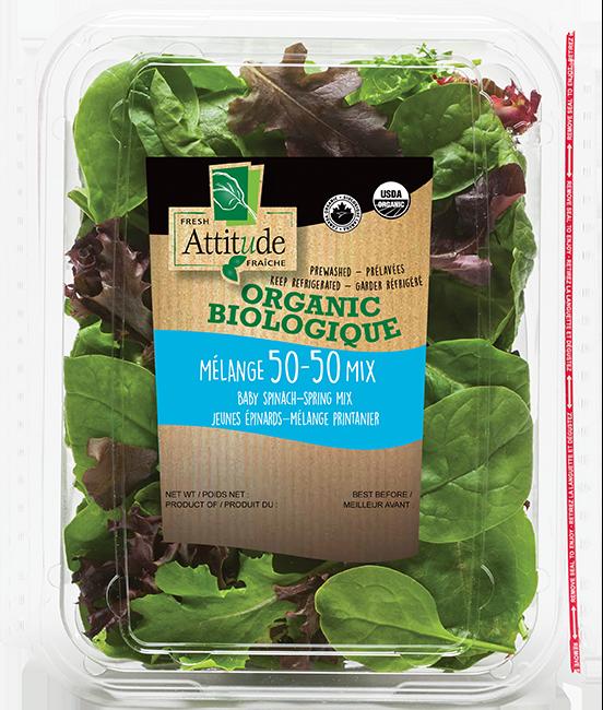 Organic 50-50 blend