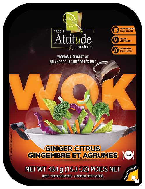 Ginger Citrus Wok Kits