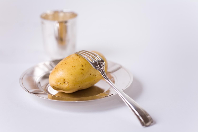 Timbales de pomme de terre et oignon / Potato and onion timbales