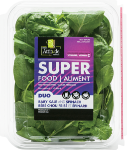 fresh attitude duo kale spinach 4.5oz product