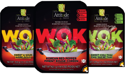 Vegpro International launches new WOK FRESH Attitude™ Line